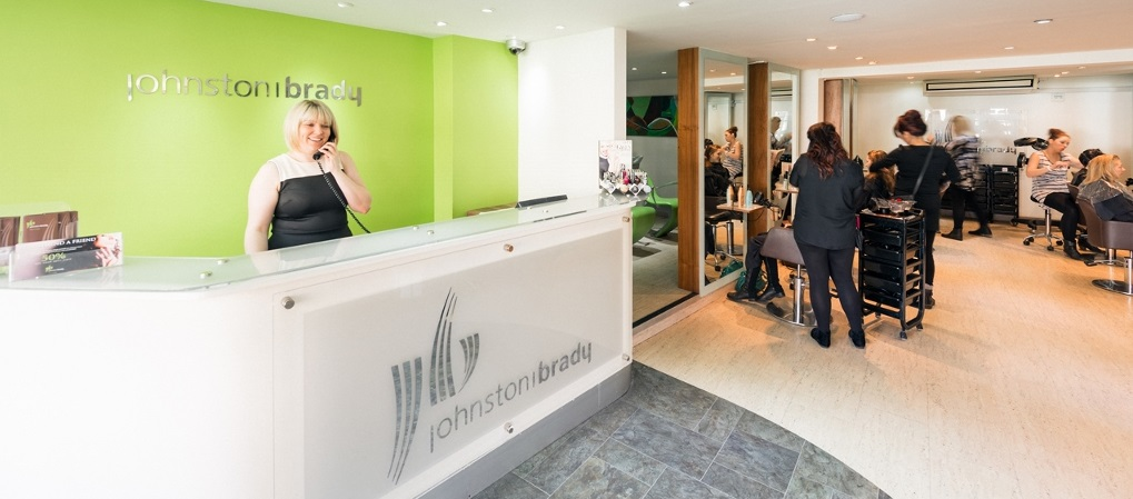 a Welcoming and professional salon